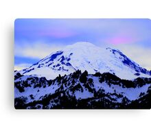 Mt Rainier from Chinook Canvas Print