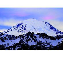 Mt Rainier from Chinook Photographic Print