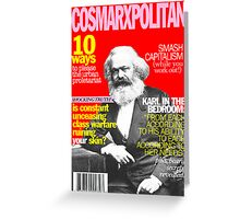 Cosmarxpolitan Issue 1 Greeting Card