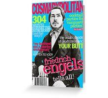Cosmarxpolitan Issue 2 Greeting Card
