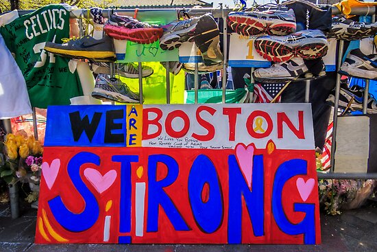 We are Boston Strong by Owed to Nature
