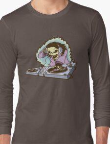 Skeleton DJ Long Sleeve T-Shirt