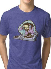Skeleton DJ Tri-blend T-Shirt