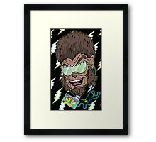 Hungry Like the Werewolf Framed Print