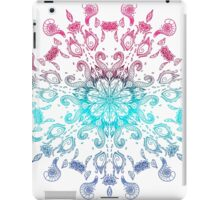 Symmetry Tattoo adult coloring theme iPad Case/Skin