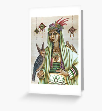 Drabarni Greeting Card