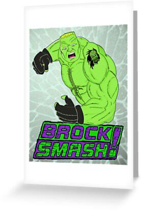 Brock Smash! by RadRecorder