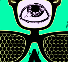 Skullectro Sticker