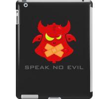 Speak no evil VRS2 iPad Case/Skin