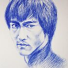 Tribute to Bruce Lee by Francesca Romana Brogani