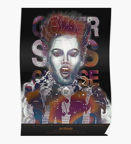 Gozer Says Choose (Black Background) Poster
