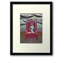 Head Space Framed Print