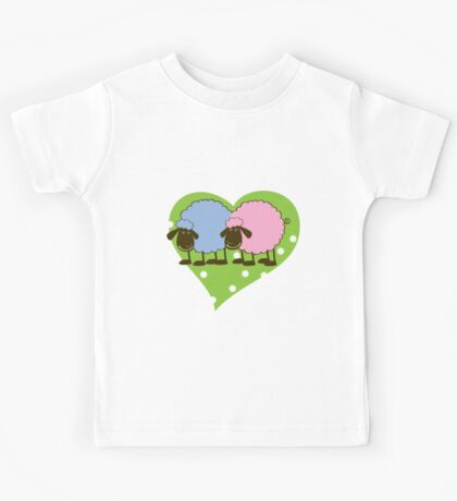 Sheep - Boy & Girl Kids Tee