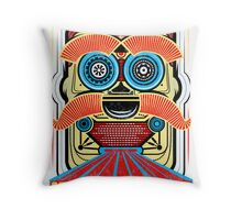 Bad Robot - HAZZAH! Throw Pillow