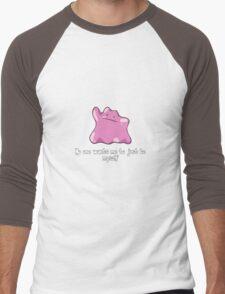 Ditto (Pokemon) Men's Baseball ¾ T-Shirt