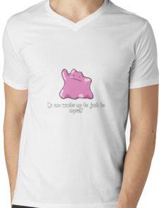 Ditto (Pokemon) Mens V-Neck T-Shirt