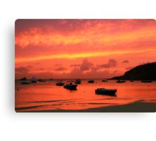 After Sunset Canvas Print