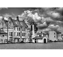 South Lookout Tower Aldeburgh Black and White Photographic Print