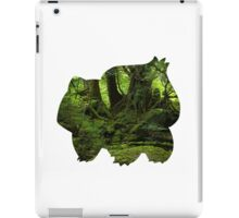 Bulbasaur Silhouette iPad Case/Skin