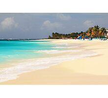 Shoal Bay Beach Anguilla Photographic Print