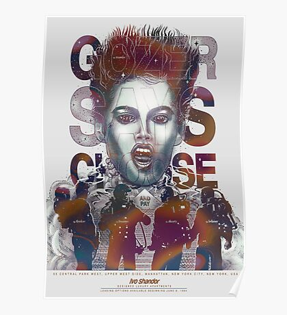 Gozer Says Choose (Off-White Background) Poster