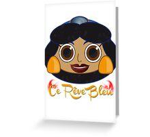 CE REVE BLEU Greeting Card