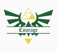 Triforce of Courage Kids Tee