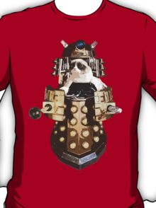 Grumpy Dalek - Exterminate Everybody T-Shirt