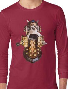 Grumpy Dalek - Exterminate Everybody Long Sleeve T-Shirt