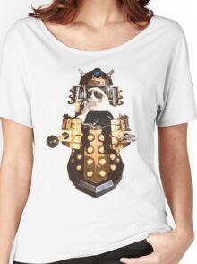 Grumpy Dalek - Exterminate Everybody Women's Relaxed Fit T-Shirt