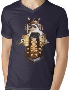 Grumpy Dalek - Exterminate Everybody Mens V-Neck T-Shirt