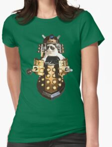 Grumpy Dalek - Exterminate Everybody Womens Fitted T-Shirt