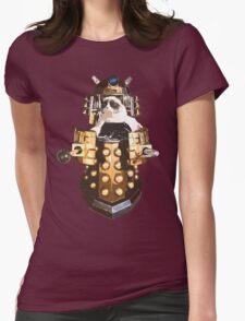 Grumpy Dalek - Exterminate Everybody Womens Fitted T-Shirt