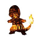Charmander Silhouette by hdrew13