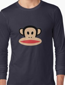 Monkey face logo Long Sleeve T-Shirt