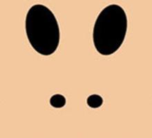 Monkey face logo Sticker