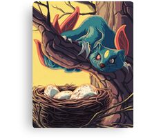 Pokemon - Sneasel Goes Grocery Shopping Canvas Print