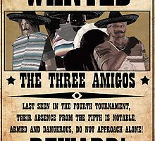 DOA5 - The Three Amigos by PJudge