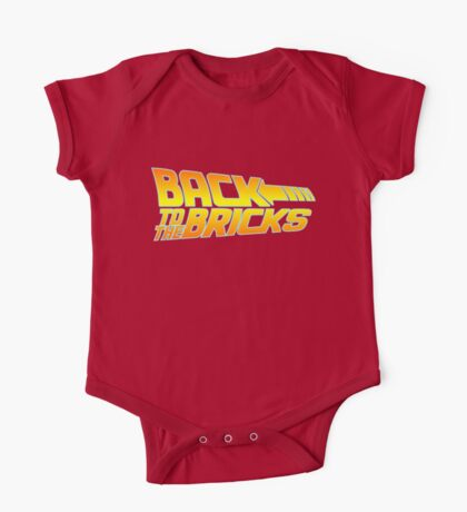 'Back to the Bricks' One Piece - Short Sleeve