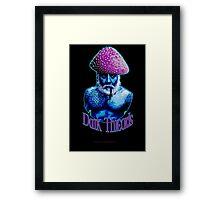 Old Man Mushroom Framed Print