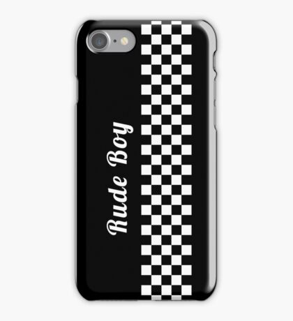 Rude Boy - Ska iPhone Case/Skin