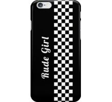 Rude Girl - Ska iPhone Case/Skin