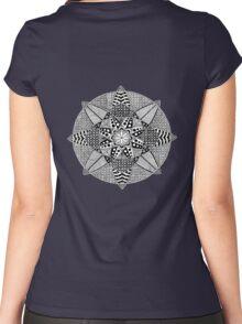 Mandala 1 Women's Fitted Scoop T-Shirt