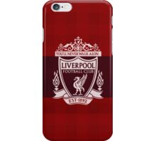 Liverpool Liver square Red  iPhone Case/Skin