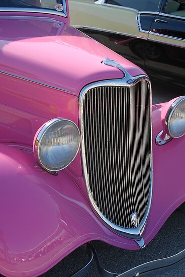 Pink Ford by Colleen Drew