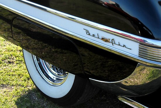 Bel Air Fender by Colleen Drew