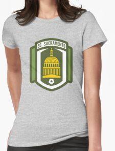 Sacramento SC // America League // PCGD Womens Fitted T-Shirt