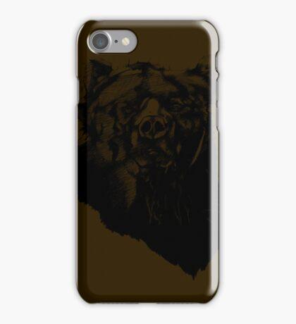Bear Sketching iPhone Case/Skin