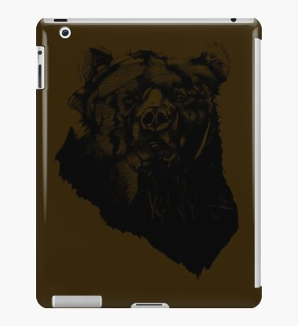 Bear Sketching iPad Case/Skin