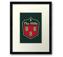 The Ville // America League // PCGD Framed Print